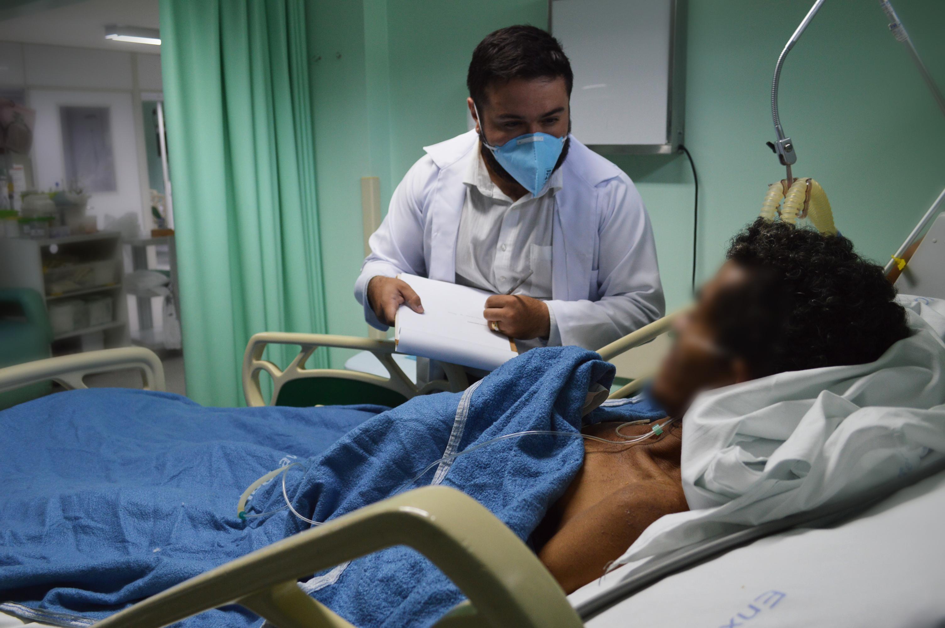 Pefoce ajuda a identificar e localizar famílias de pacientes que deram entrada como desconhecidos nos hospitais de Fortaleza