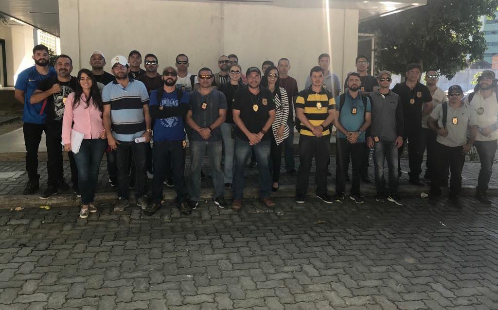 Peritos dão curso de identificação de adulteração veicular na Aesp para novos inspetores da Polícia Civil