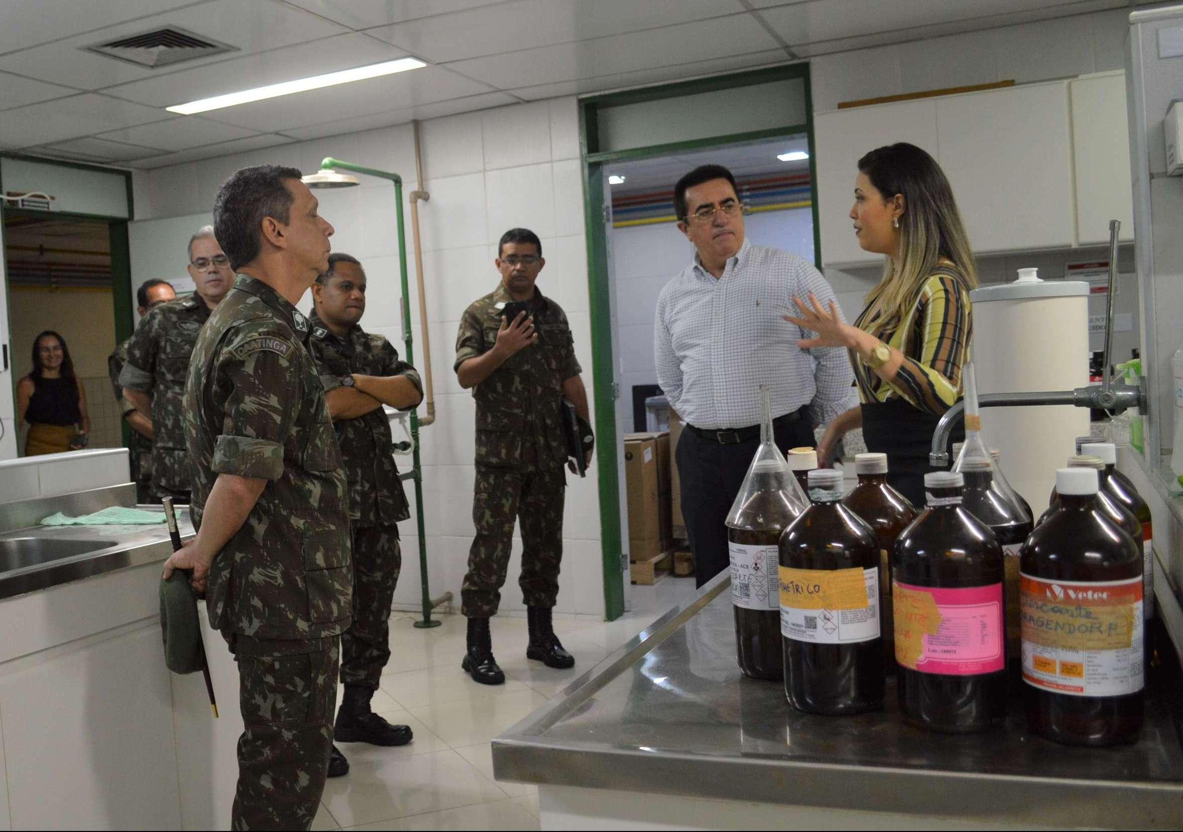 Pefoce recebe comando da 10º Região Militar do Exército Brasileiro para visita técnica em sua estrutura