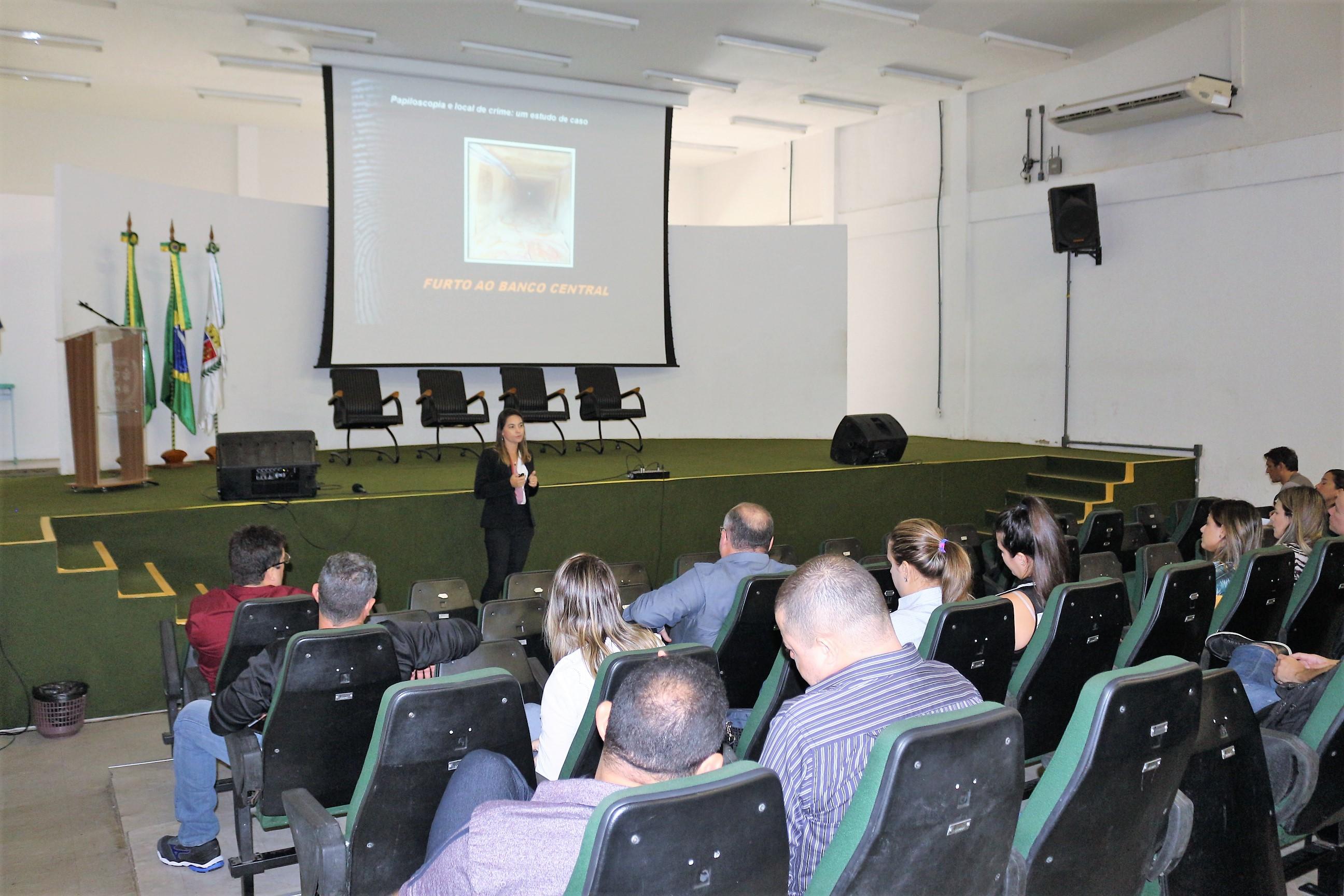 Aesp promove Curso de Papiloscopia para servidores da Pefoce
