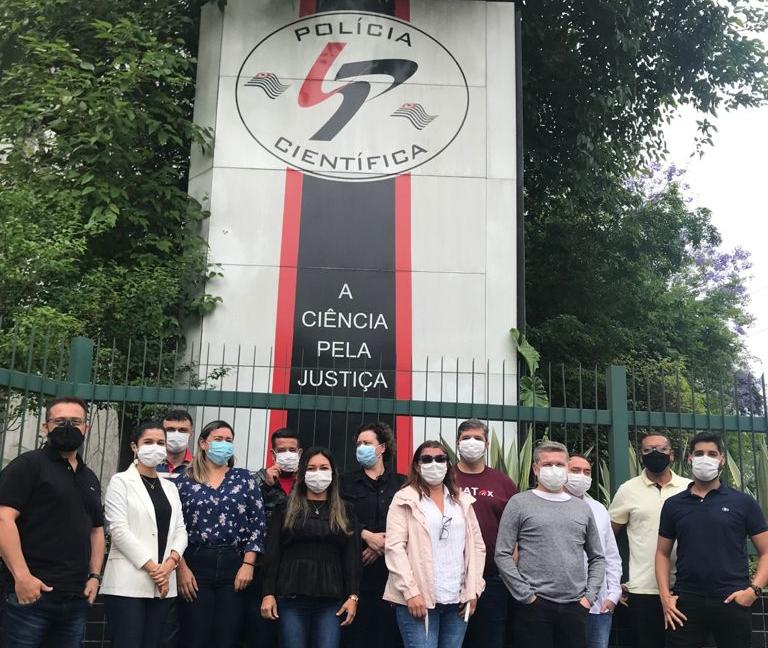 Perito legista da Pefoce participa de capacitação em São Paulo para padronização de exames