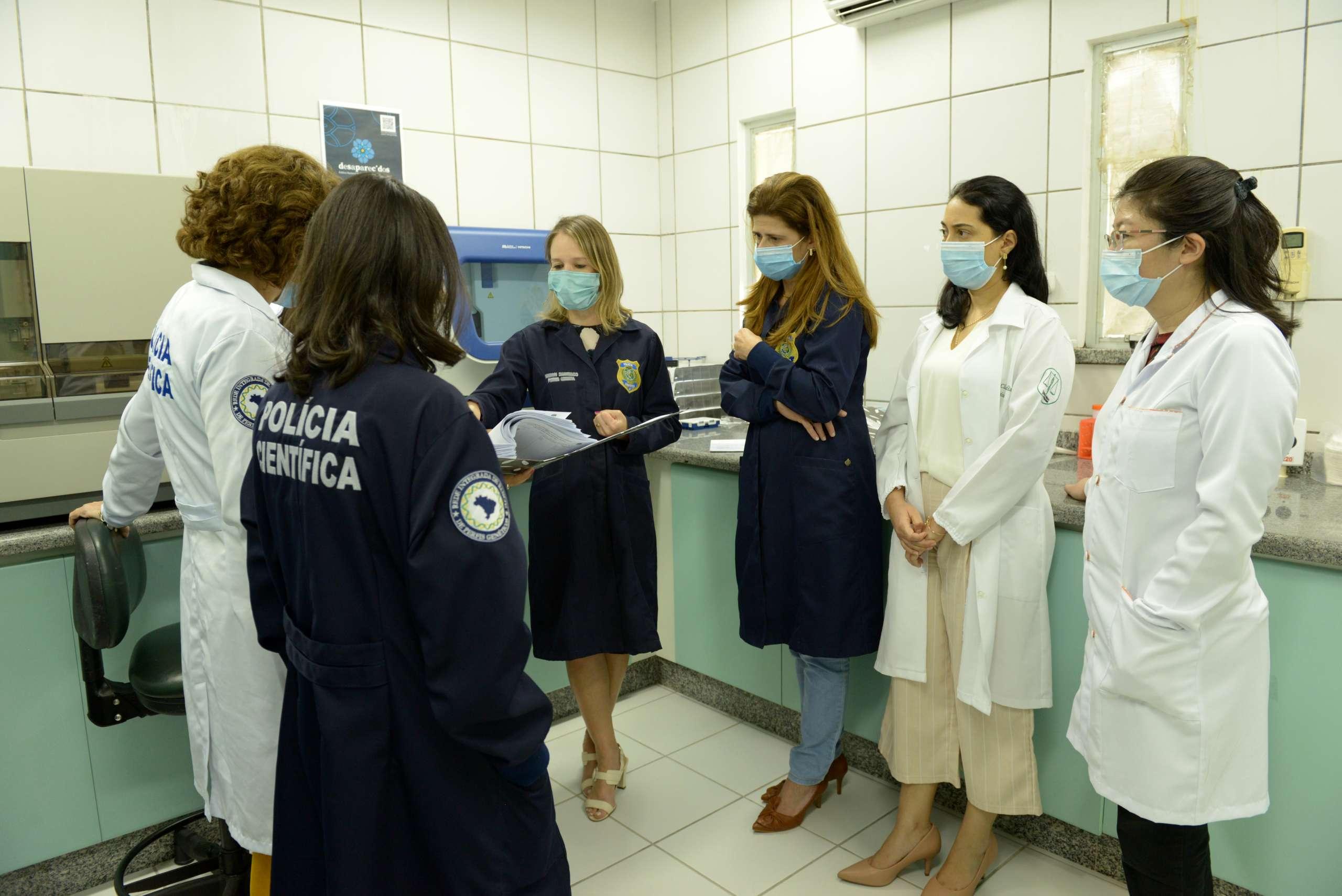 Laboratório de DNA da Pefoce recebe curso de Gestão da Qualidade